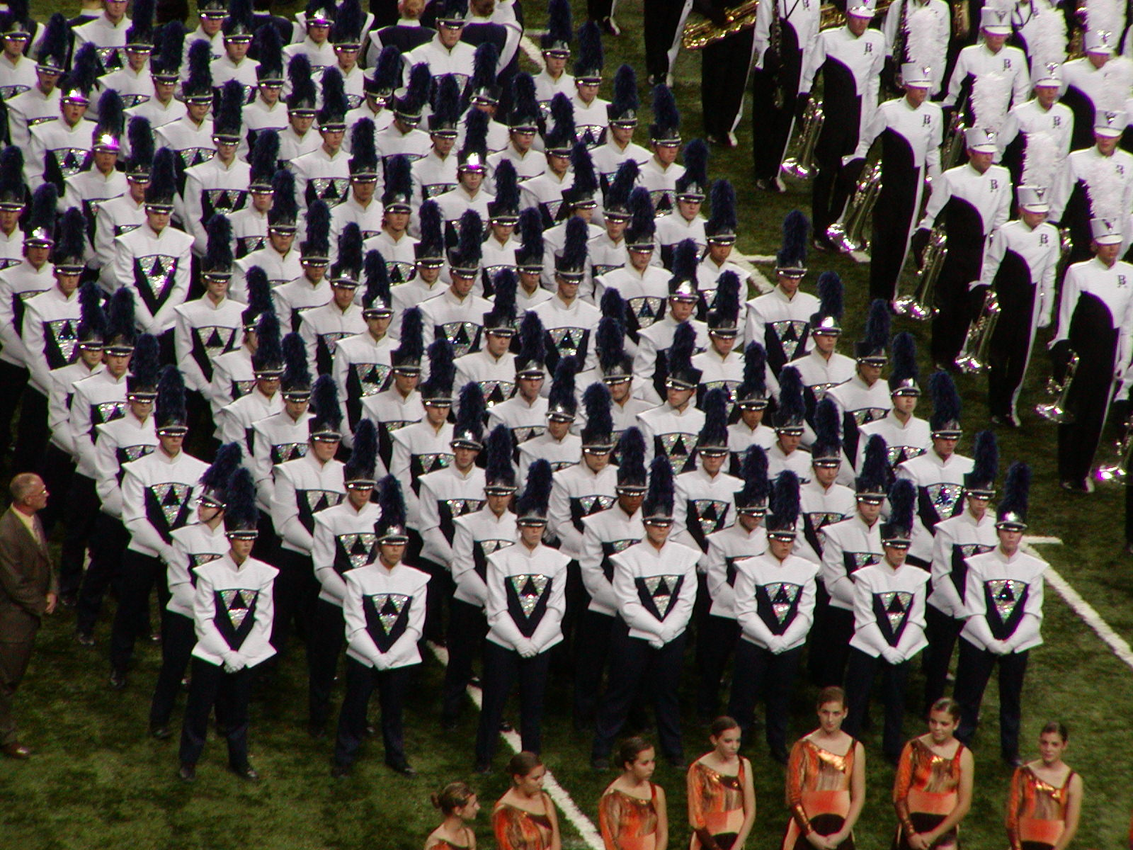 High School Marching Band Logos http://commons.wikimedia.org/wiki/File:Rosemount_High_School_marching_band.jpg