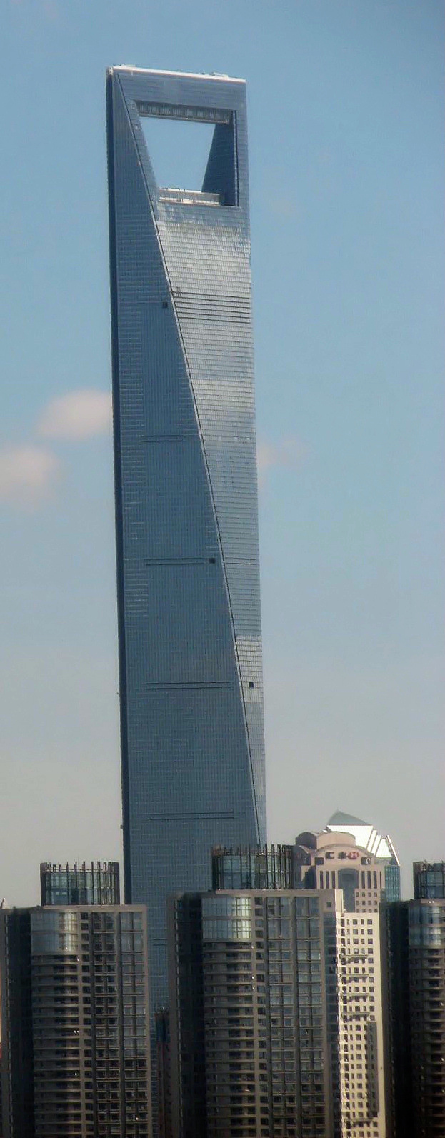 Great Shanghai World Financial Center, The Third Tallest Structure In China.