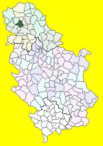 mapa vrbasa Врбас (община) — Википедия mapa vrbasa