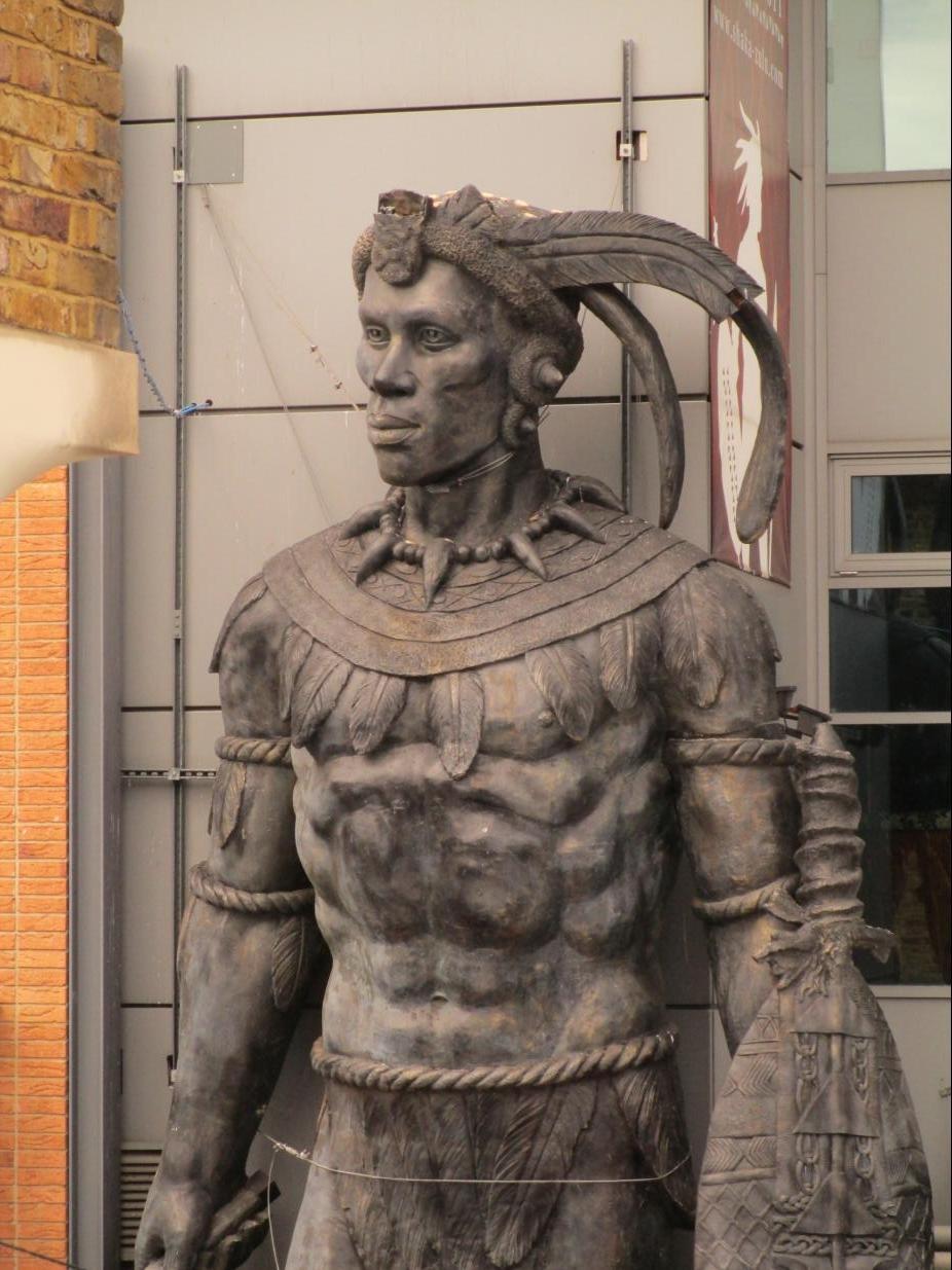 fileshaka of zululand statue 2015 london 2jpg