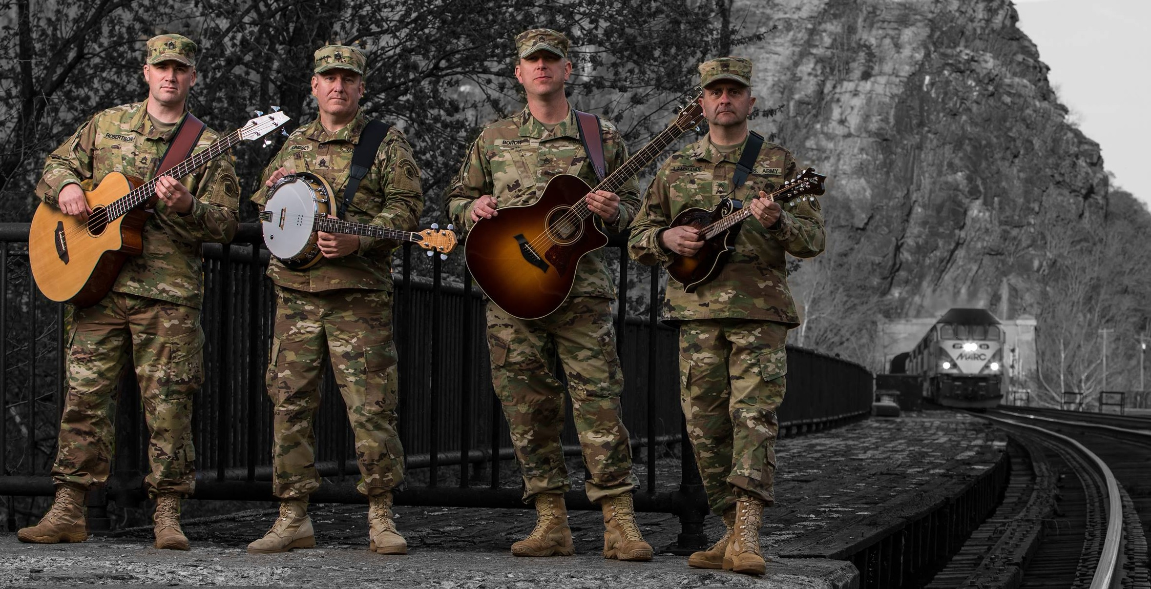 Picture of a band or musician: Six-String Soldiers