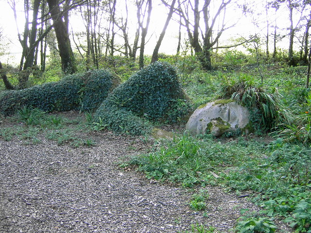 Sleeping Statue - geograph.org.uk - 50412