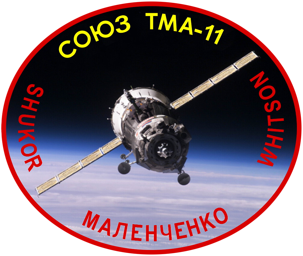 Animation assemblage ISS Soyuz_TMA-11_Patch