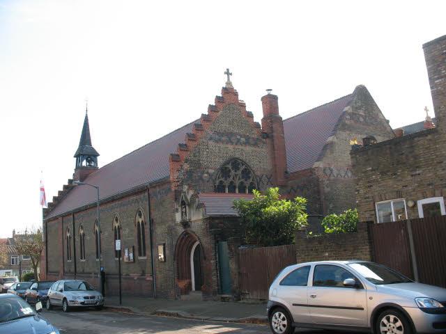 St Michael's church, Wandsworth Common - geograph.org.uk - 1012640