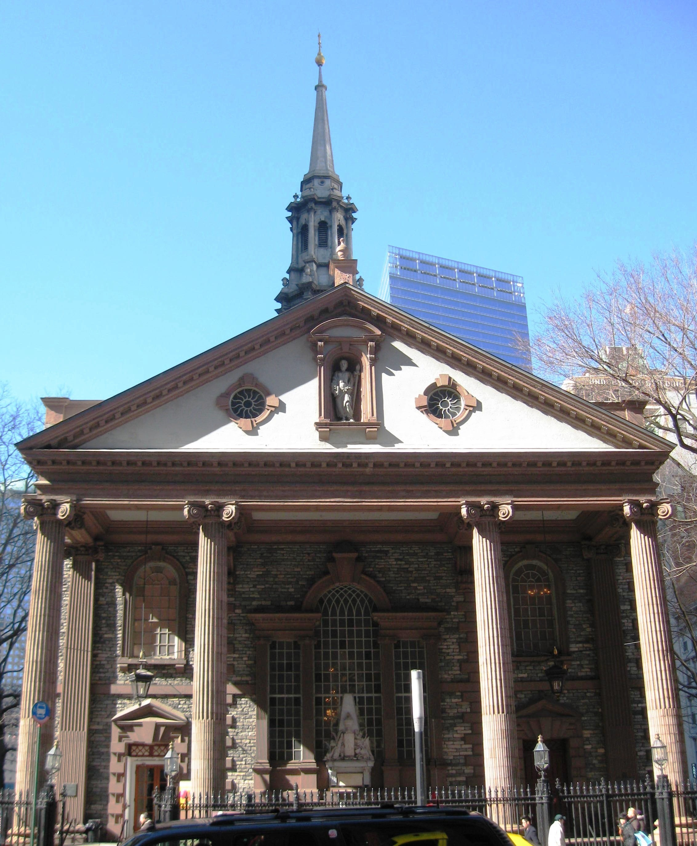 Image result for st paul's chapel nyc