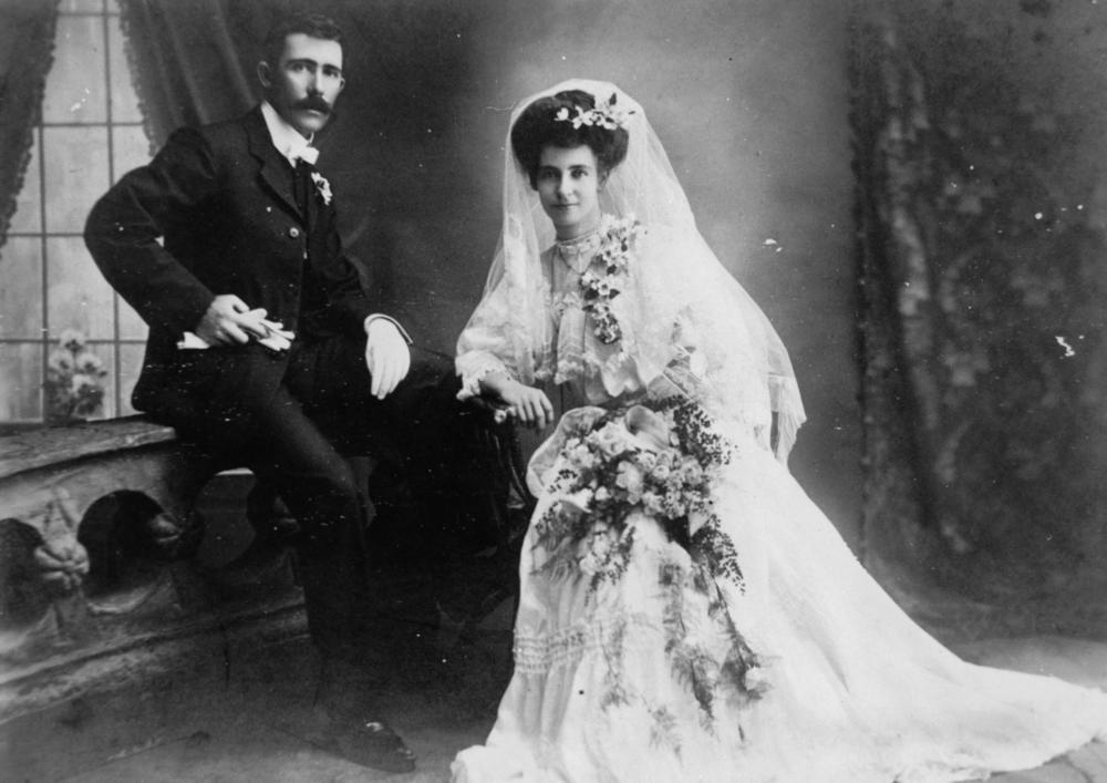 Irish Vintage Wedding Rings