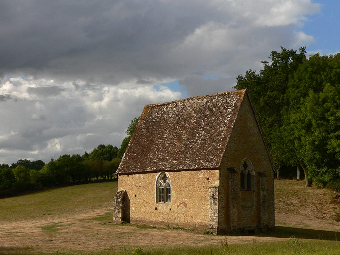 Kapellet Saint-Céneri i Saint-Céneri-le-Gérei