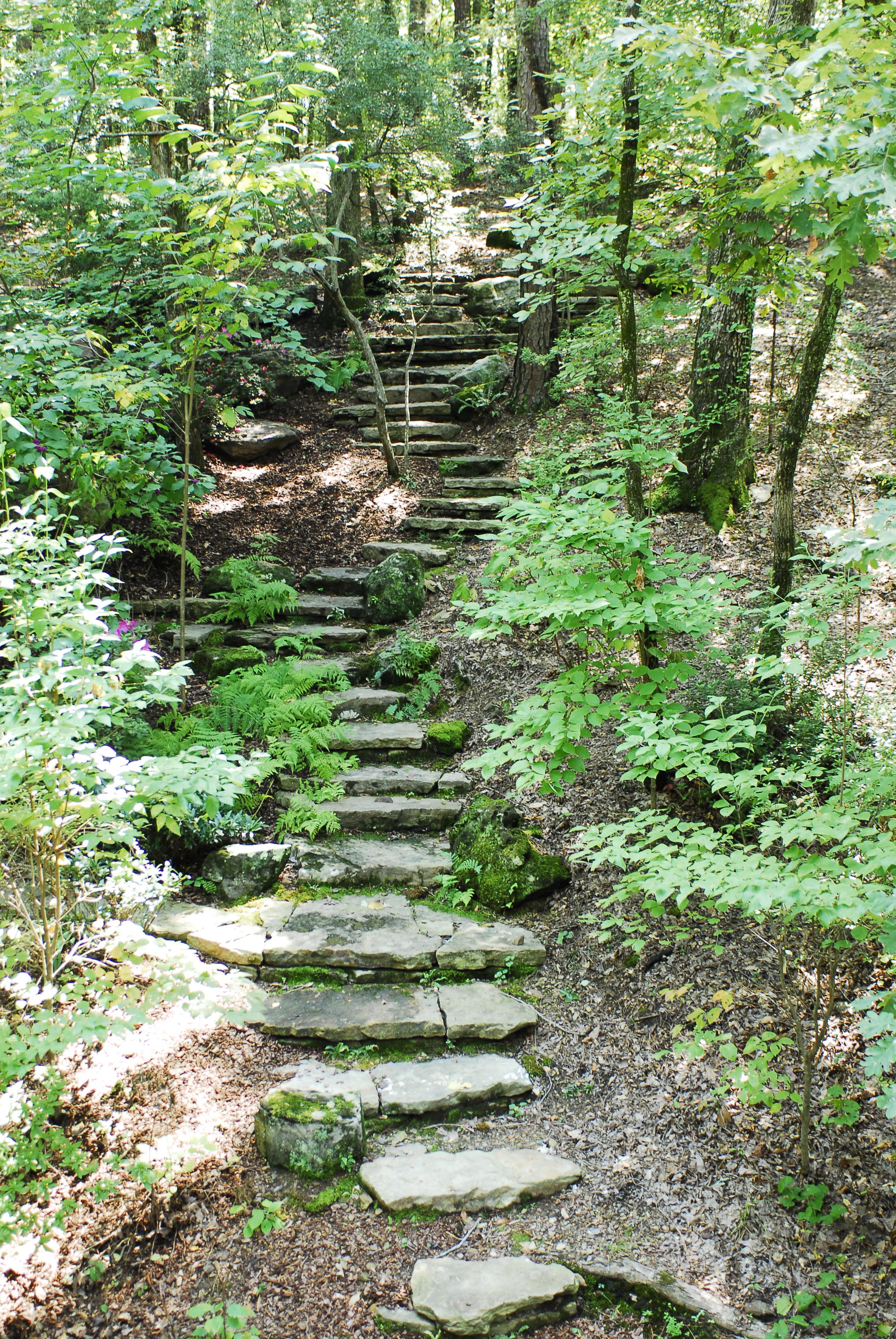 Rock Steps: File:Stone Steps In The Woods.JPG