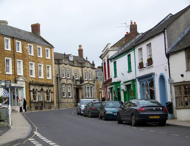 Street Scene, Castle Cary - geograph.org.uk - 667628