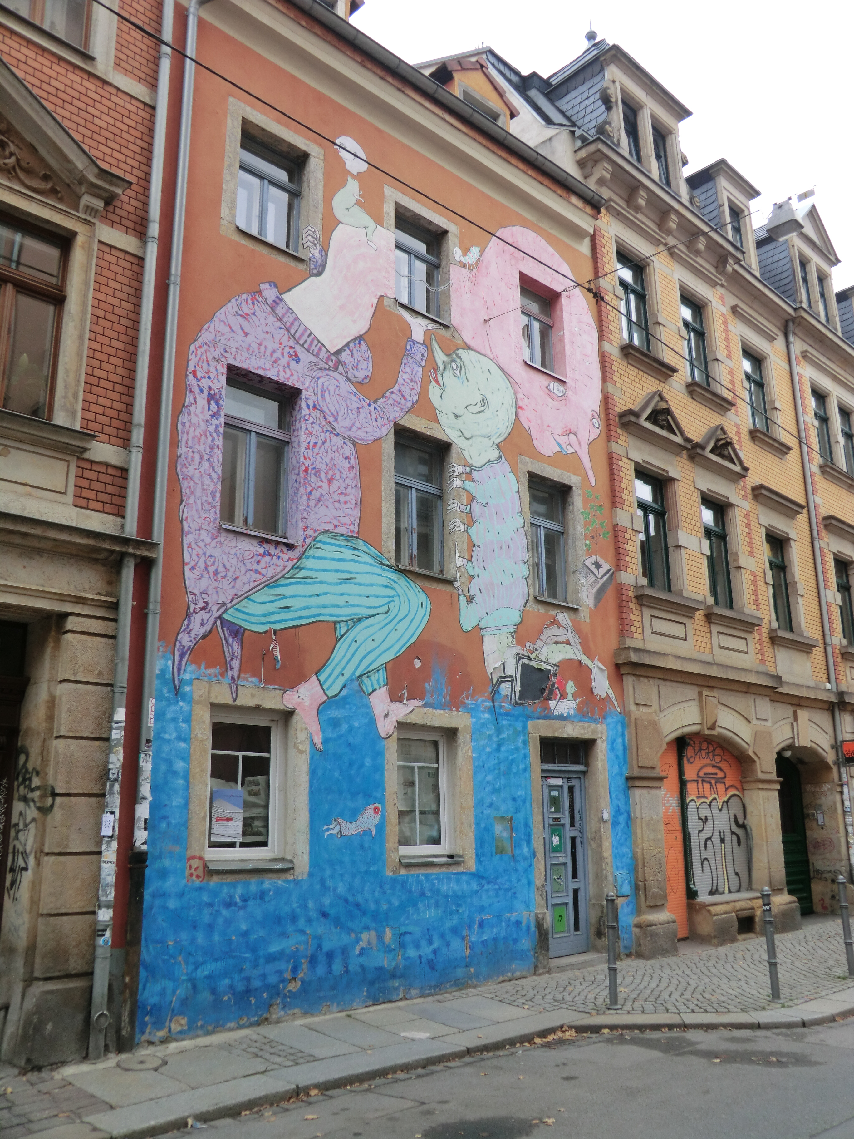 file streetart dresden neustadt wikimedia commons. Black Bedroom Furniture Sets. Home Design Ideas