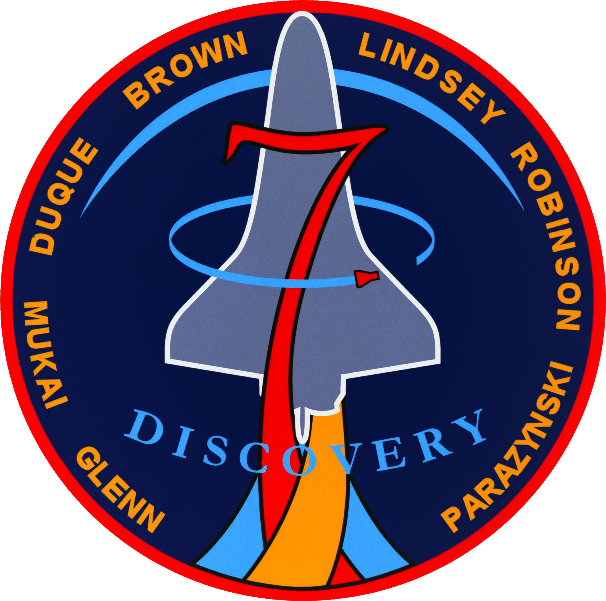 STS-95 Insignia