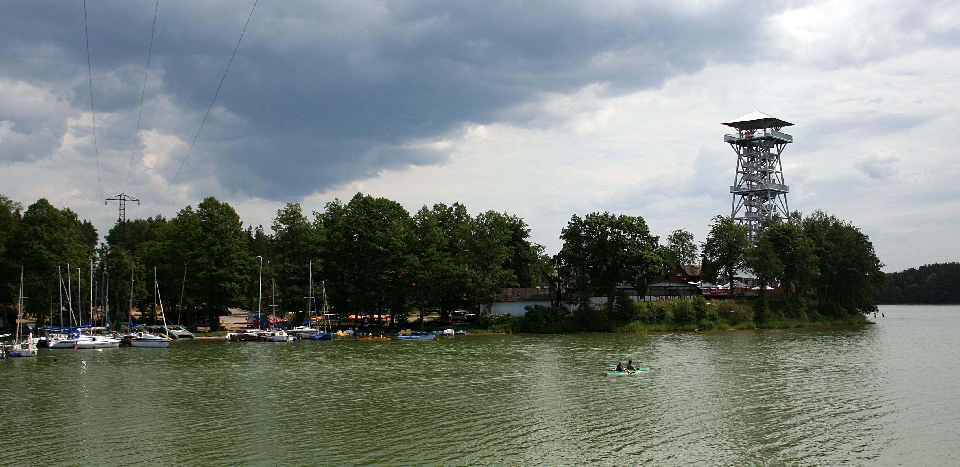 Styk jezior Jelenie x Gołuń punkt widokowy