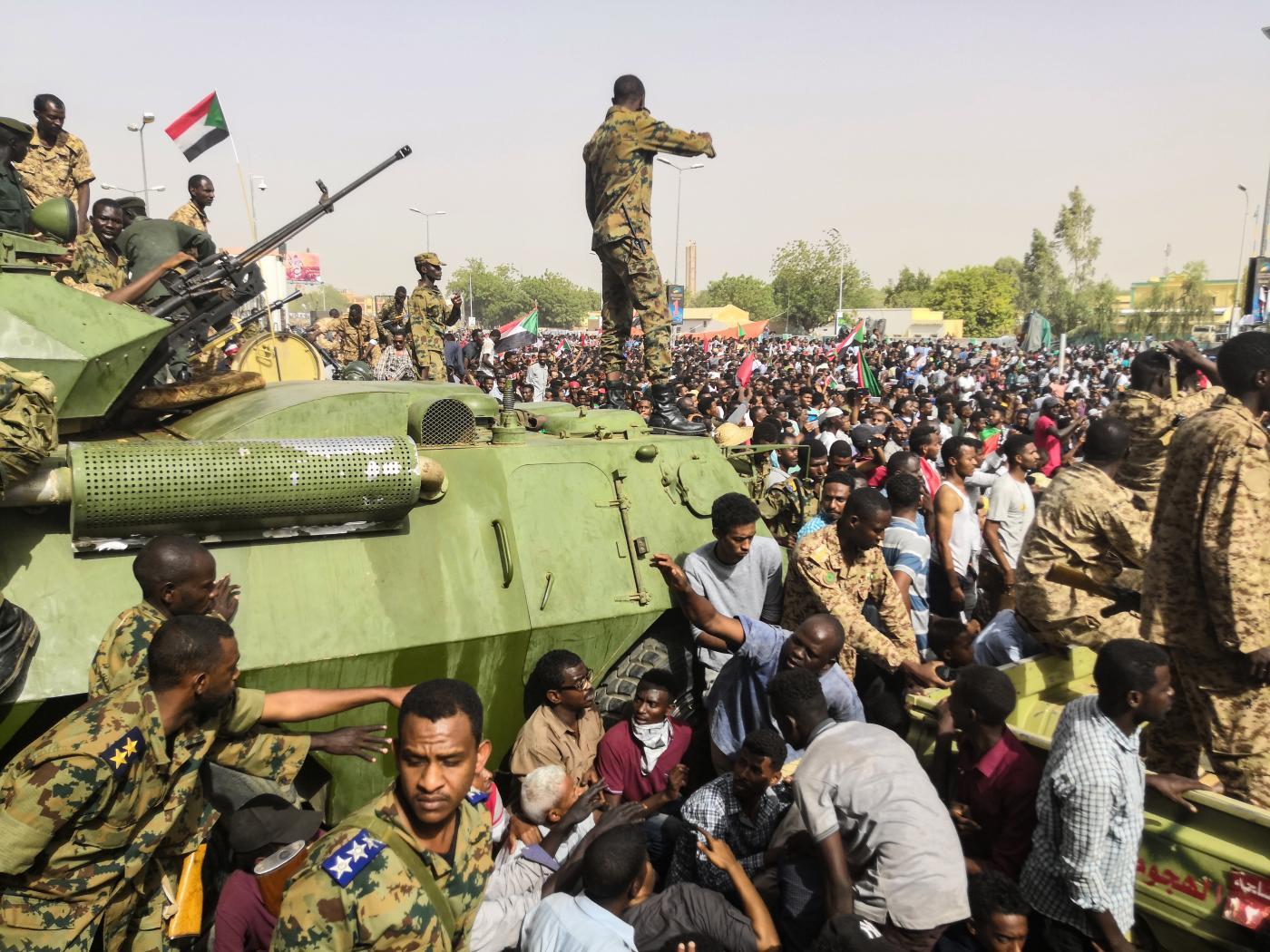 Golpe de Estado en Sudán de 2019 - Wikipedia, la enciclopedia libre