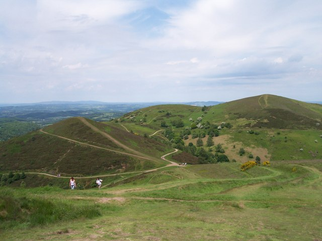 Sugarloaf Hill (with Table Hill and North Hill) - geograph.org.uk - 180685
