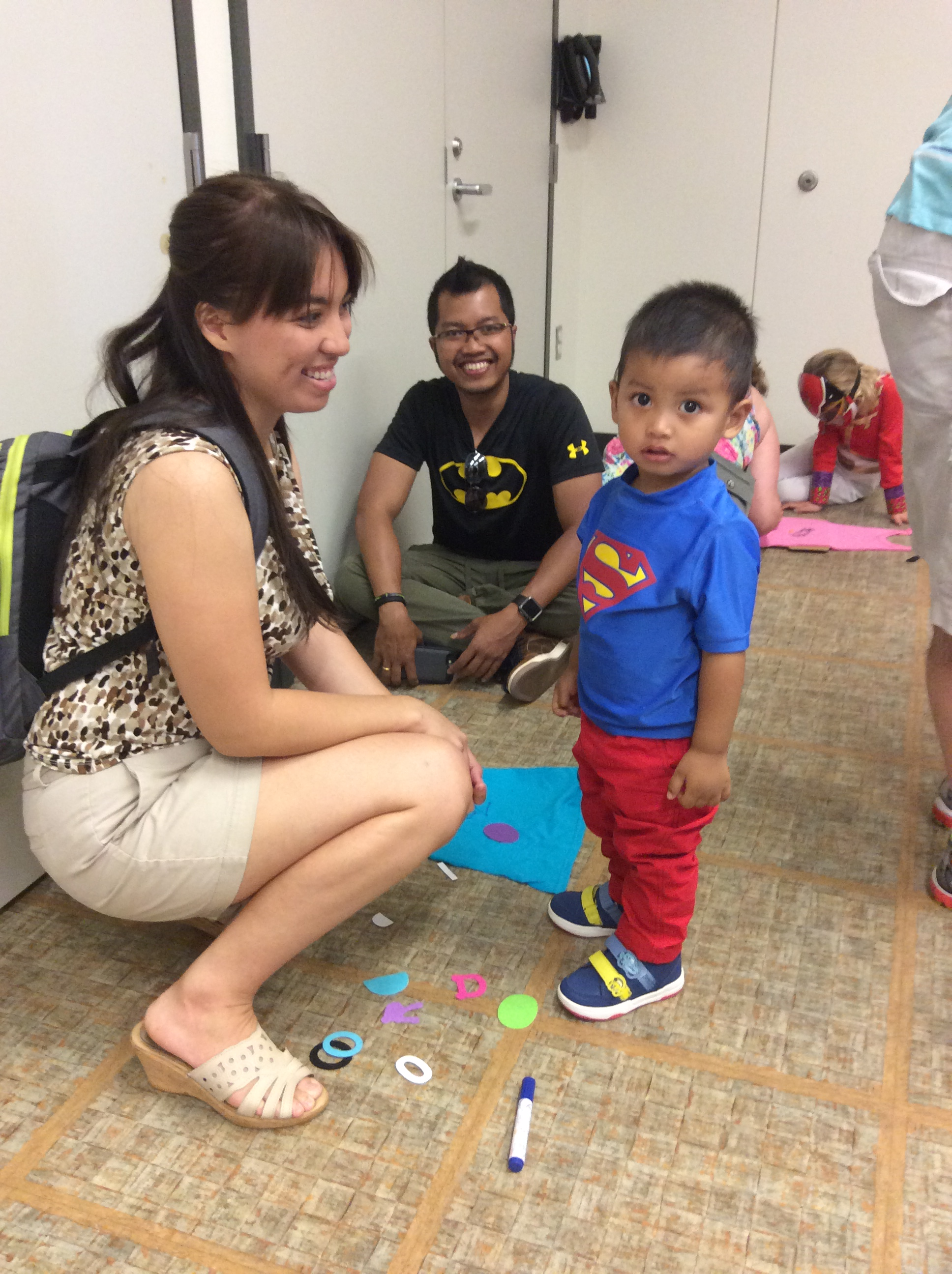 Superhero Party at Oshtemo 265 (20519861625).jpg English: Superhero Party at Oshtemo Branch Library, August 10, 2015. Photos by Mary Wischman