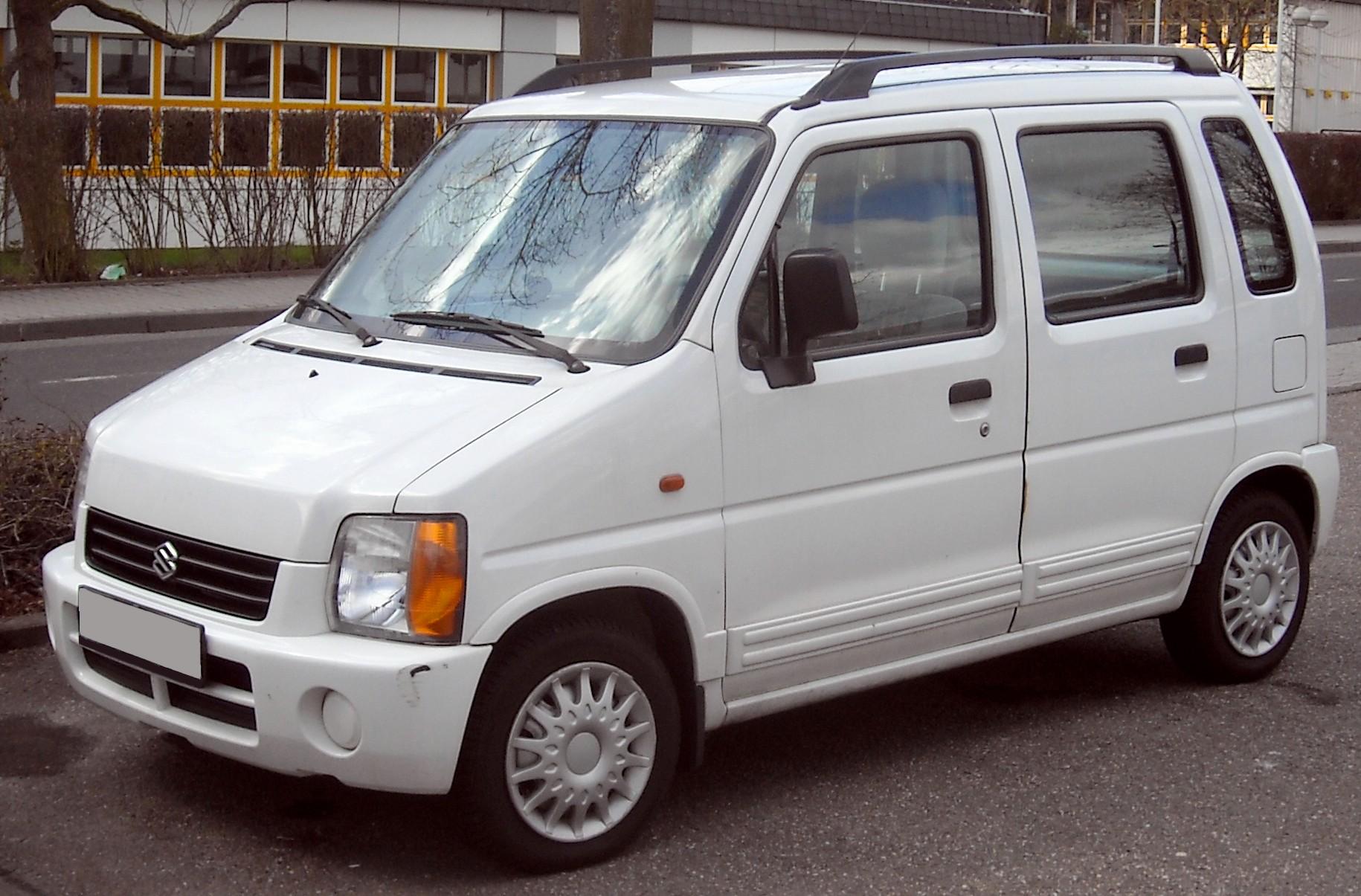 File:Suzuki Wagon R+ front 20100402.jpg - Wikimedia Commons