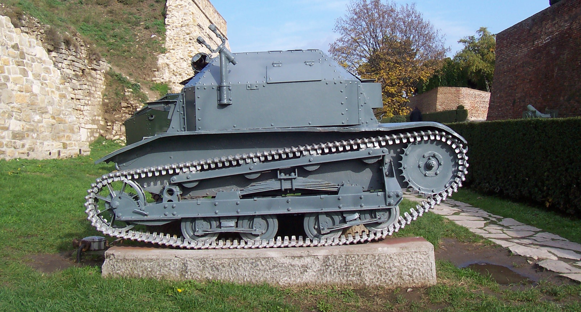 The same TKF in the Belgrade Military Museum