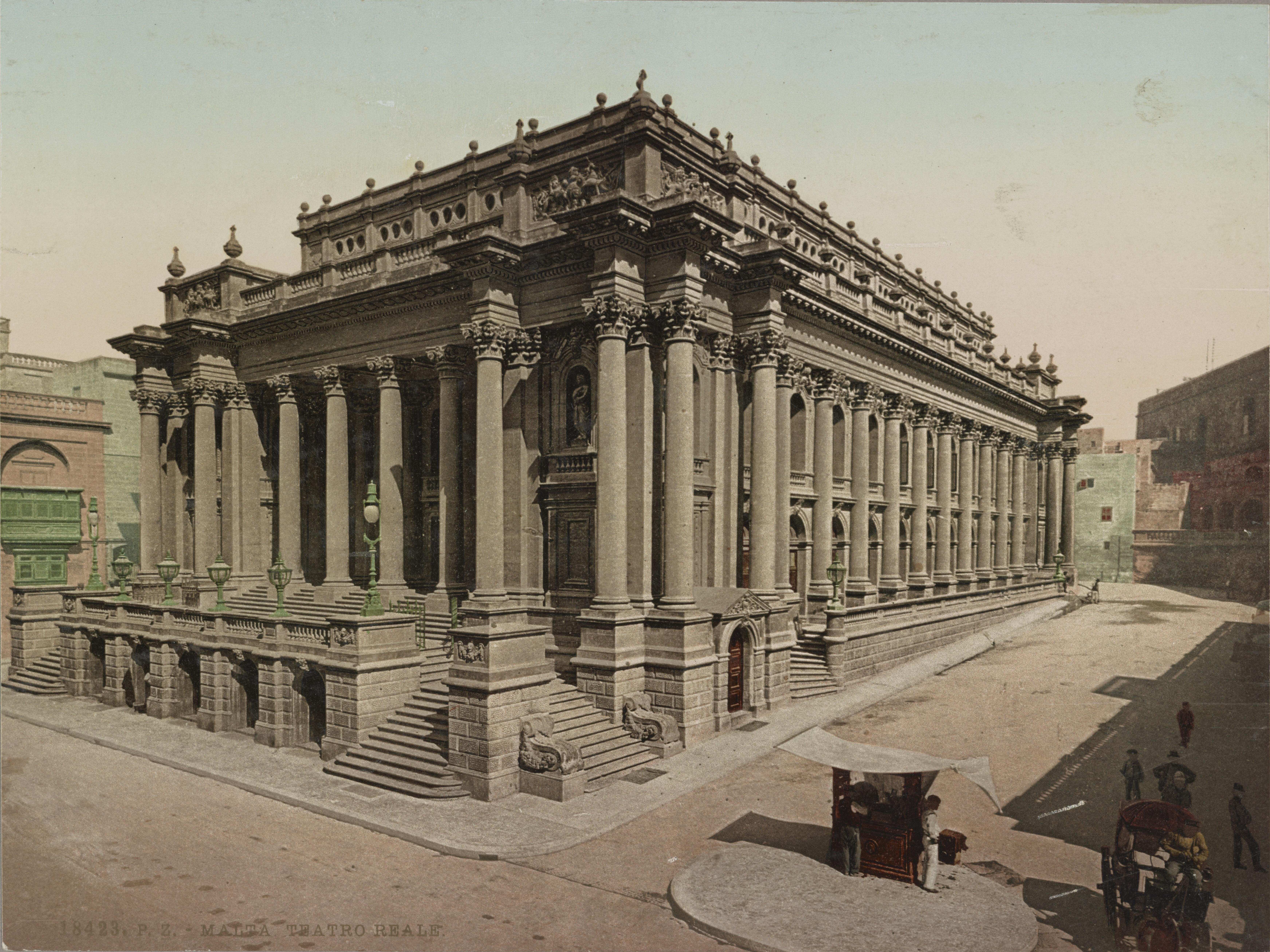 Royal Opera House, Valletta - Wikipedia