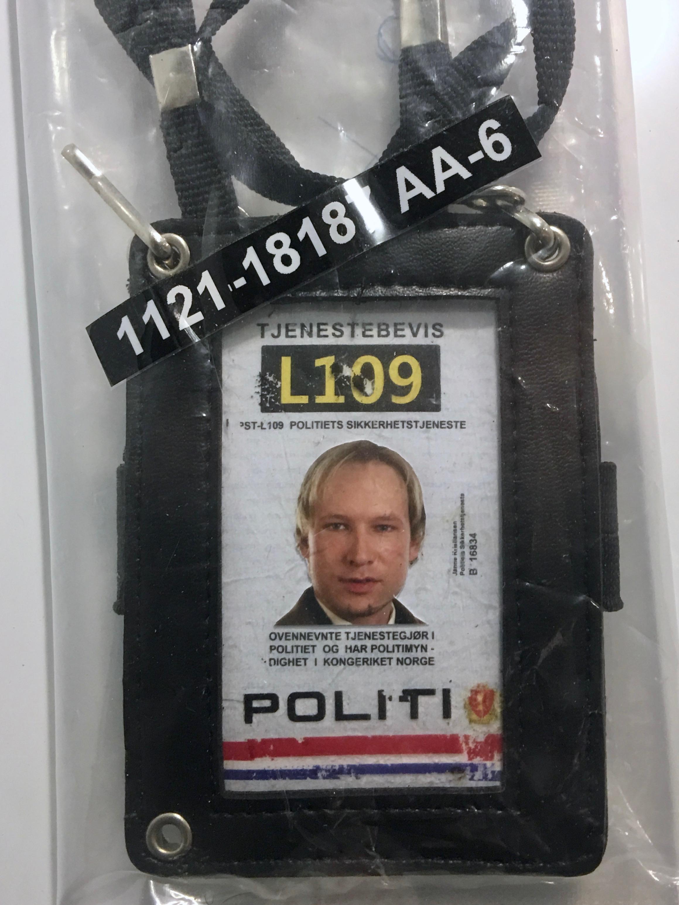 File:Terrorist Anders Behring Breivik's fake police ID as