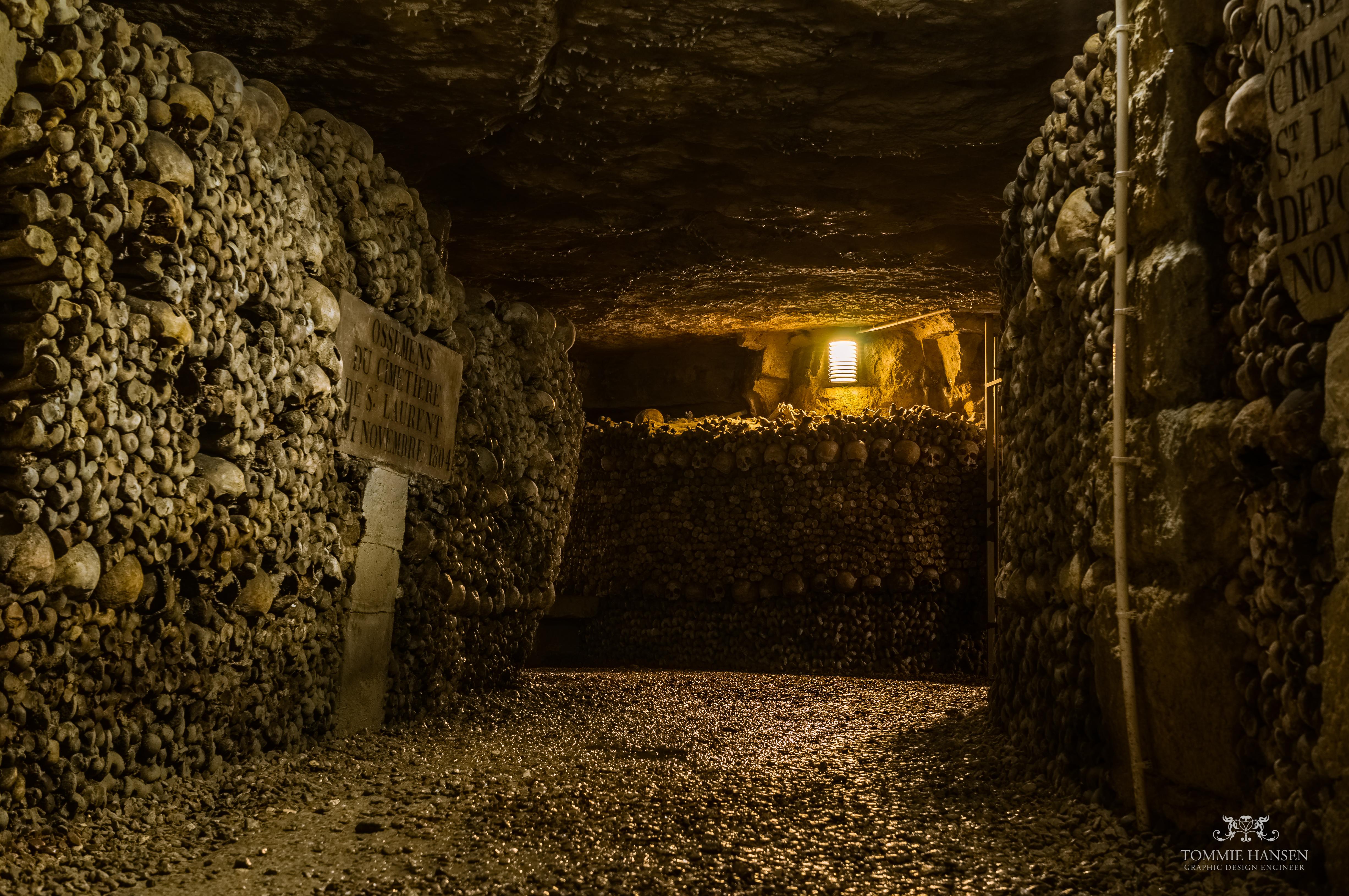 Paris Catacombs Tour Map