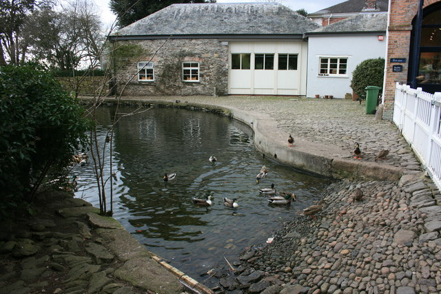 The Coach Washing Pond at Saltram House - geograph.org.uk - 1194498