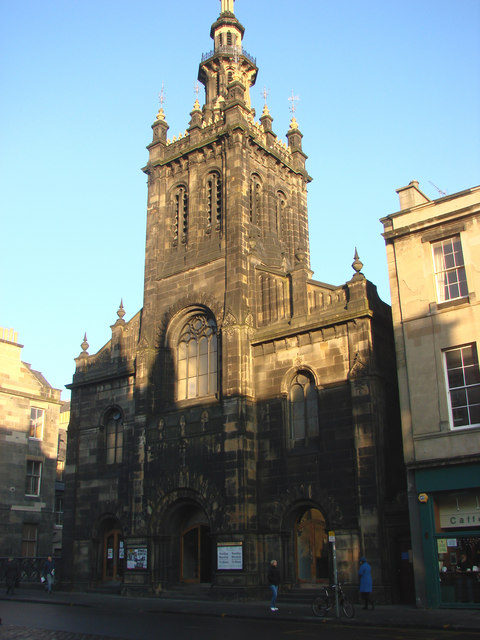 The United Augustine Church, George IV Bridge - geograph.org.uk - 638395.jpg