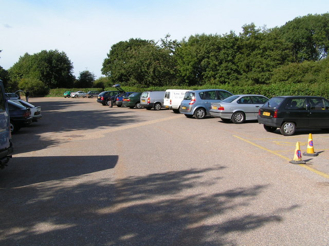 The car park, Haysden Country park - geograph.org.uk - 189727