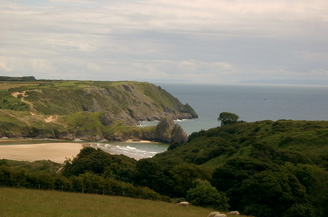 Three Cliffs Bay, Swansea - geograph.org.uk - 478161