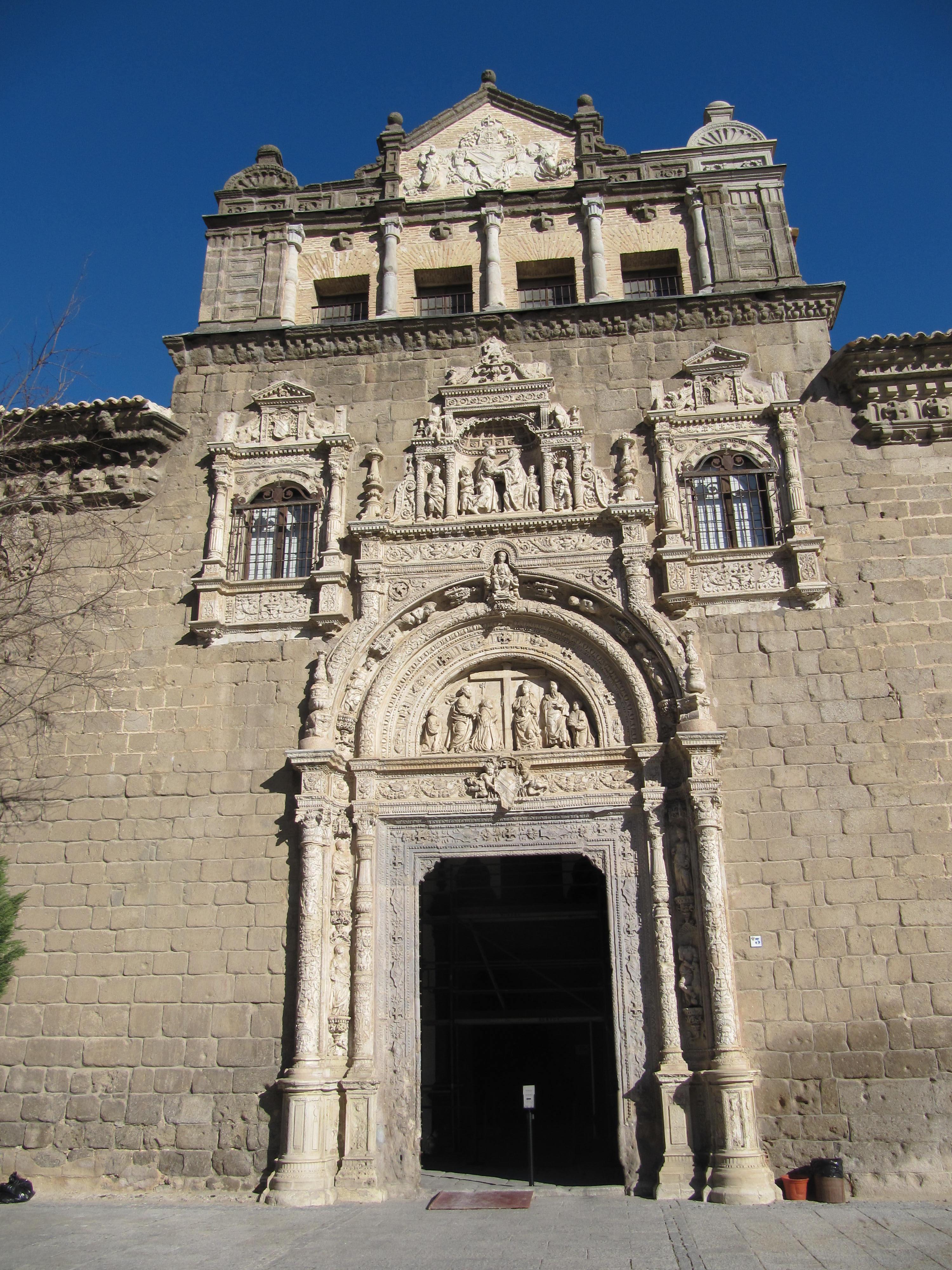 Hospital de Santa Cruz (Toledo) - Wikipedia, la enciclopedia libre