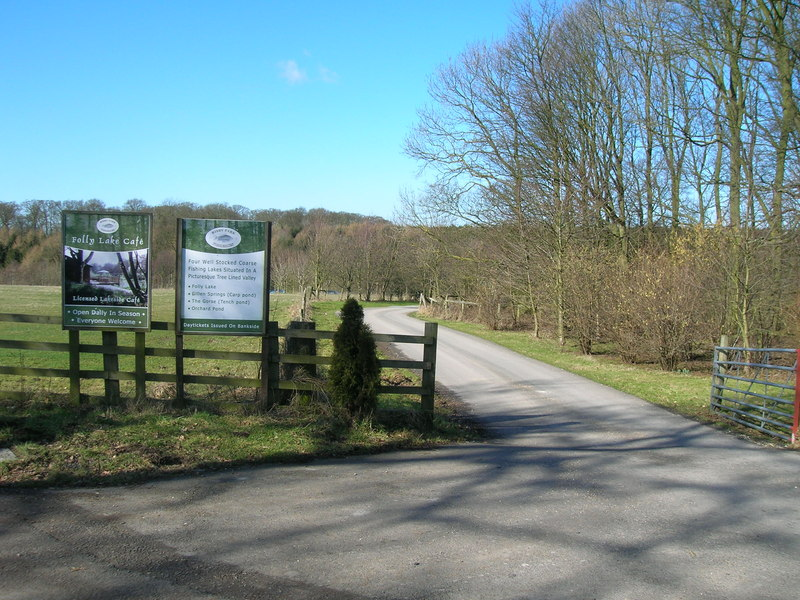 Track to Risby Park Fishing Ponds - geograph.org.uk - 1733498