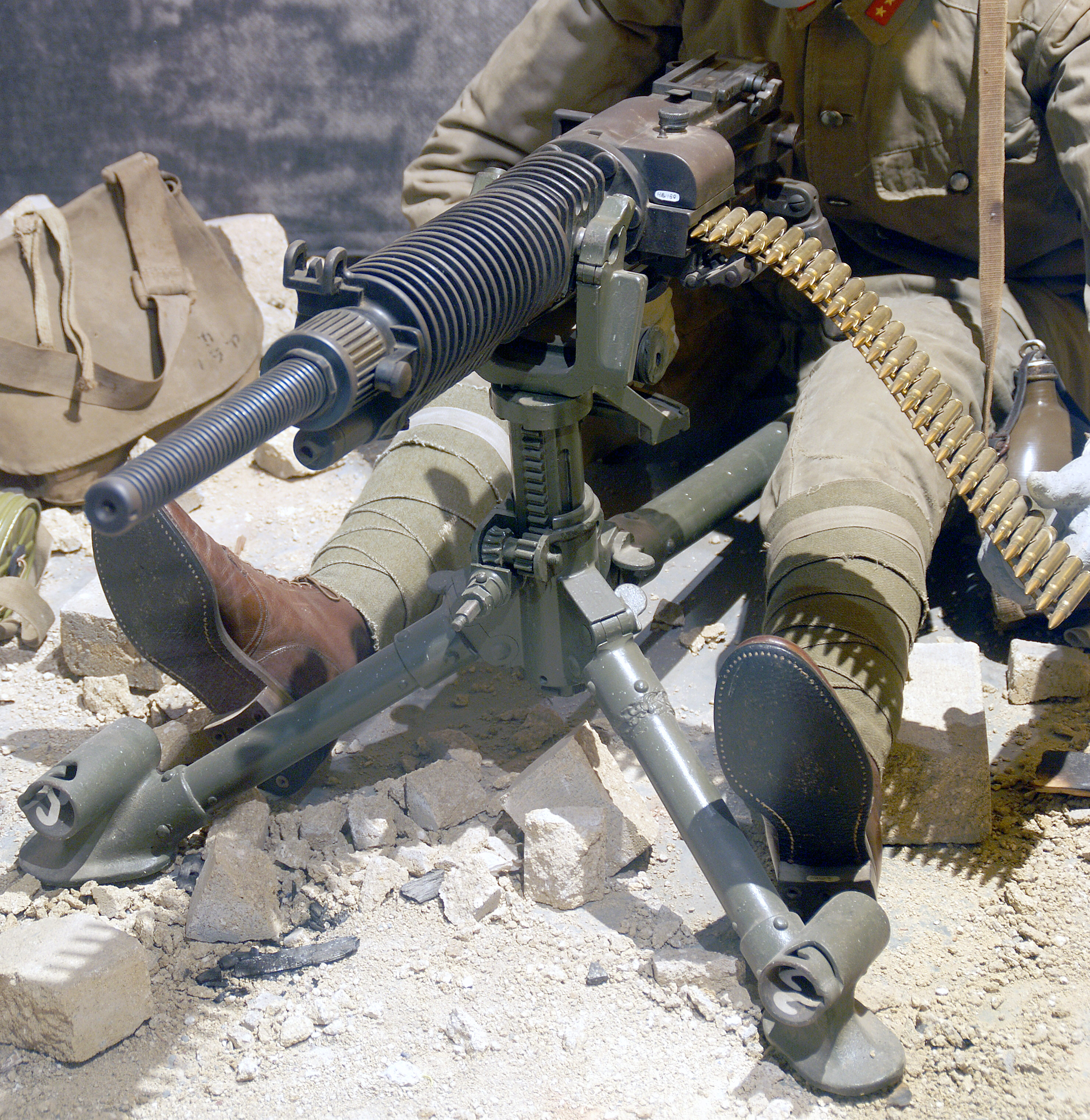 how to make a machine gun