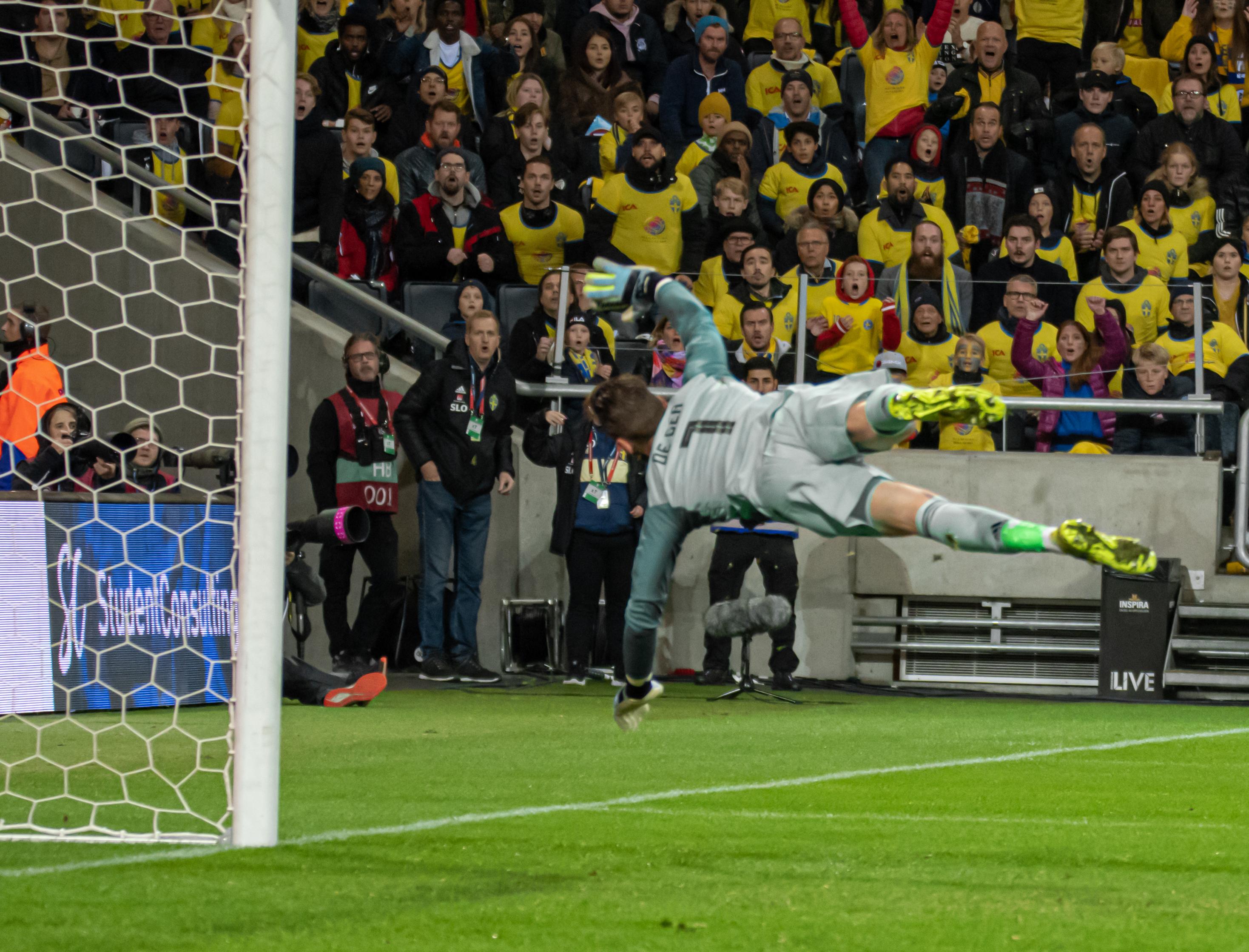File:UEFA EURO qualifiers Sweden vs Spain 20191015 David de Gea 7.jpg