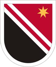 US ARMY FLASH 84TH ENGINEER COMPANY