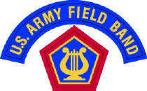 U.S. Army Field Band Shoulder Sleeve Insignia