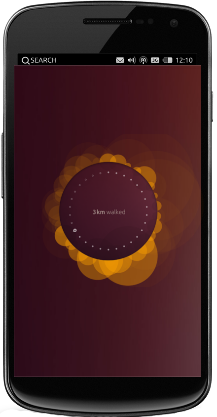 Ubuntu Touch auf einem Smartphone