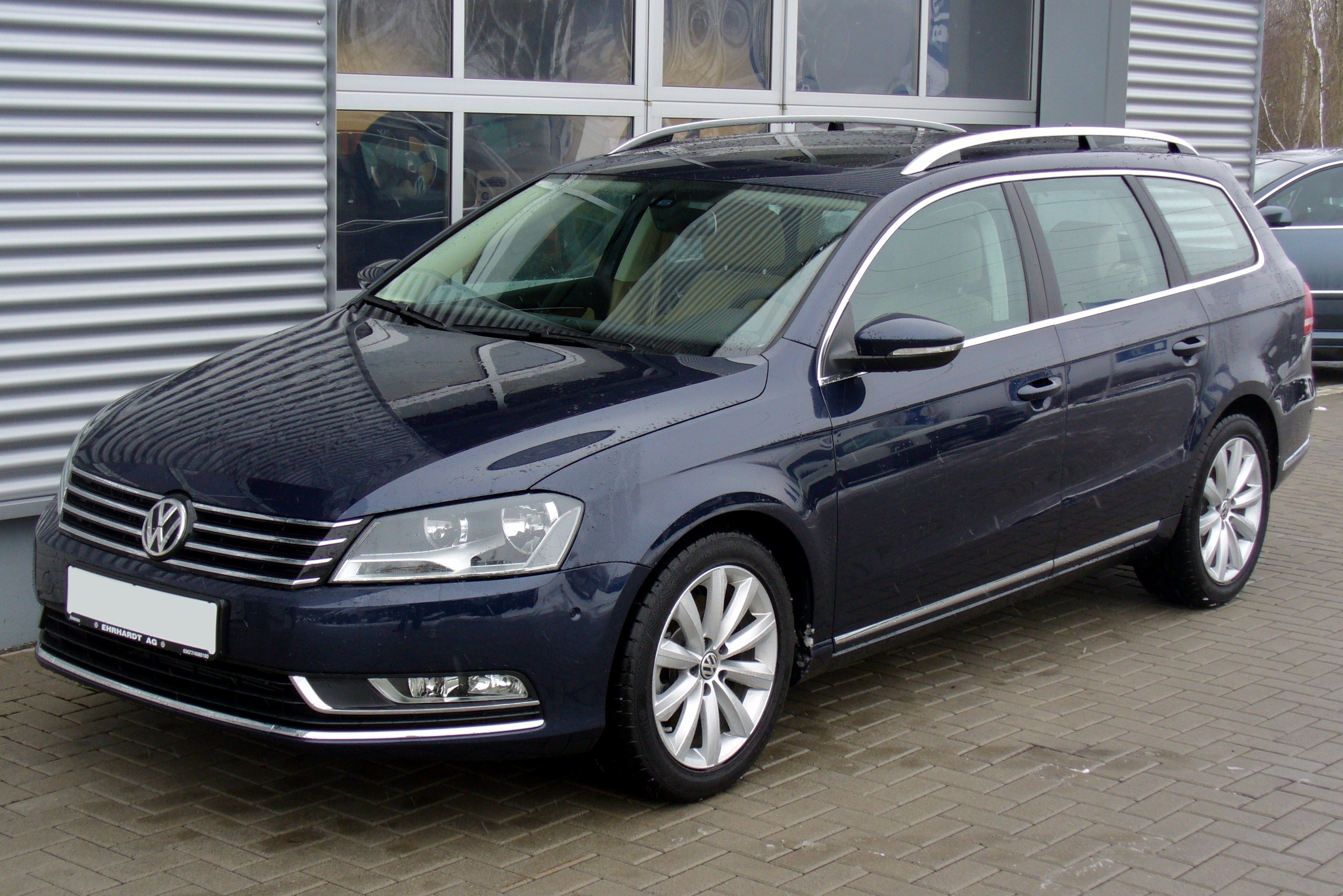 file vw passat variant b7 1 8 tsi comfortline nightblue jpg wikimedia commons. Black Bedroom Furniture Sets. Home Design Ideas