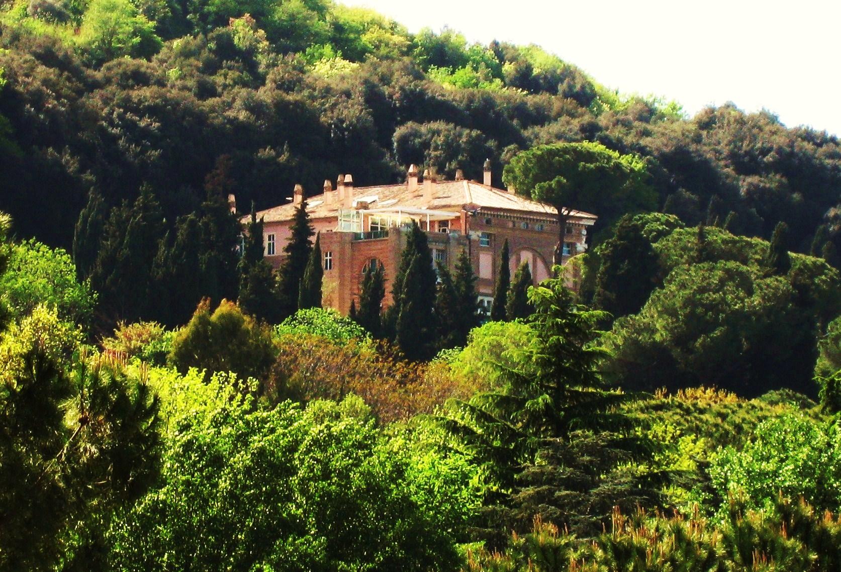 Villa Madama Raffaello Su Monte Mario
