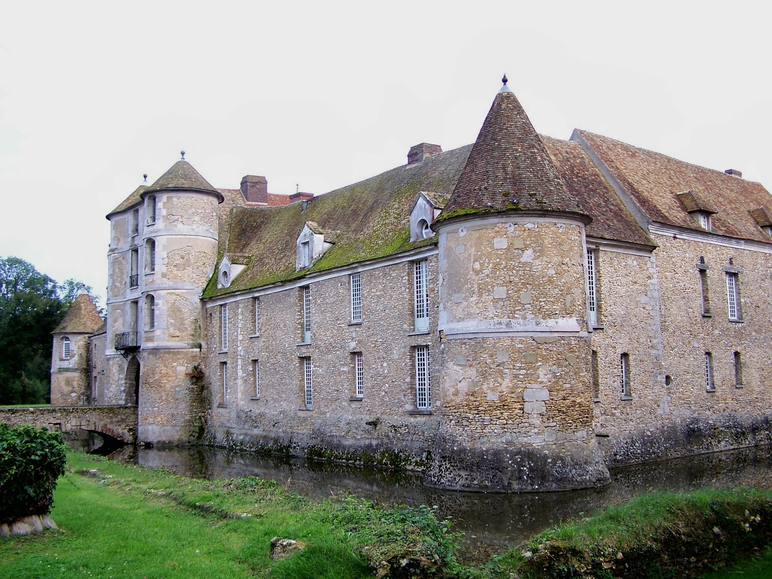 Chateau De Villiers Le Mahieu Restaurant