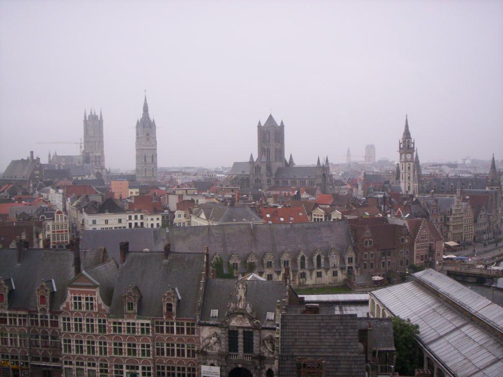 Description Vue de Gand (Belgique - Flandre).jpg