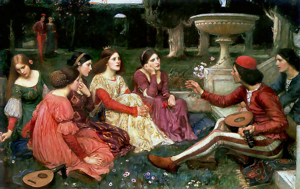 http://upload.wikimedia.org/wikipedia/commons/2/2c/Waterhouse_decameron.jpg