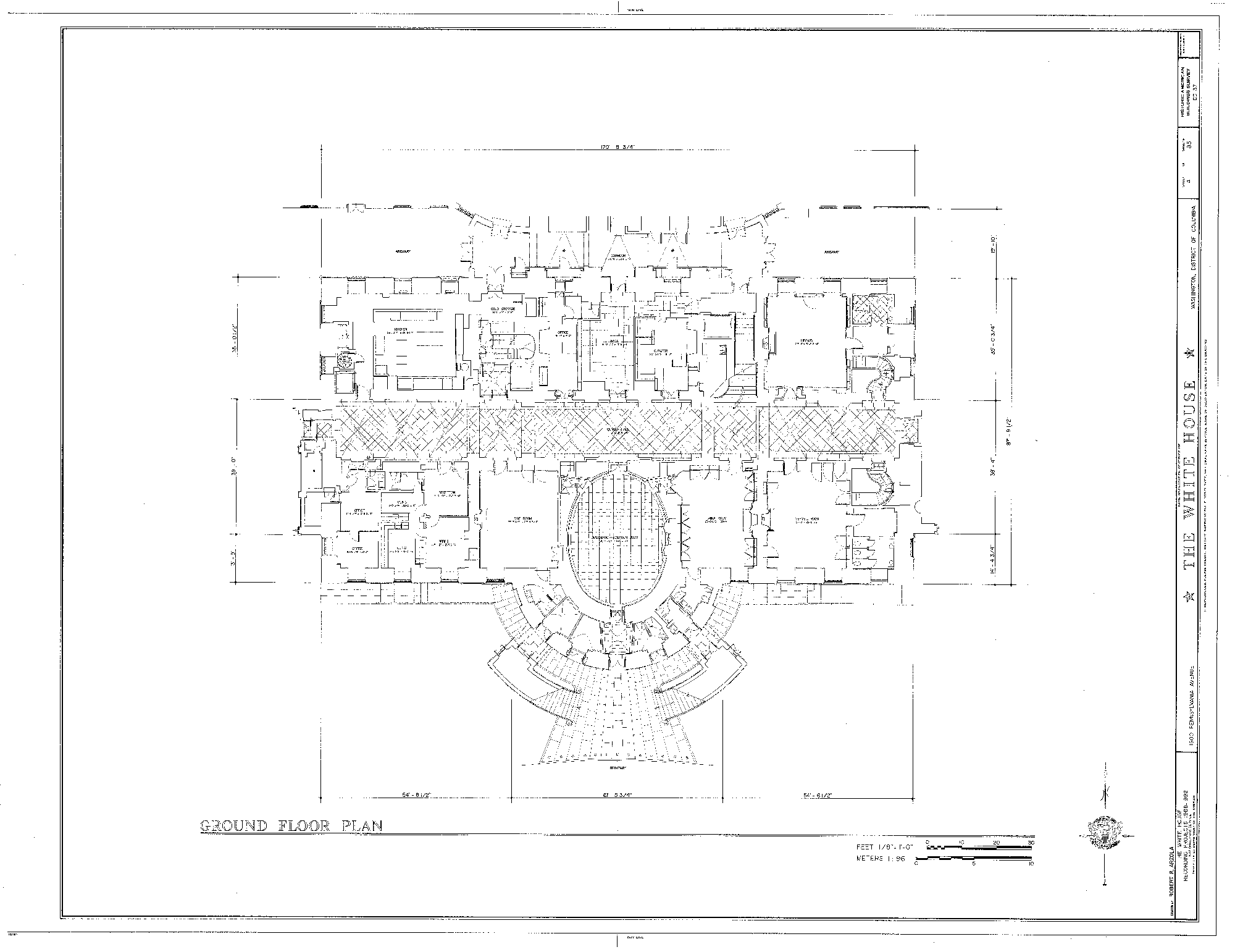 Fuqua Homes Floor Plans White House Original Floor Plan