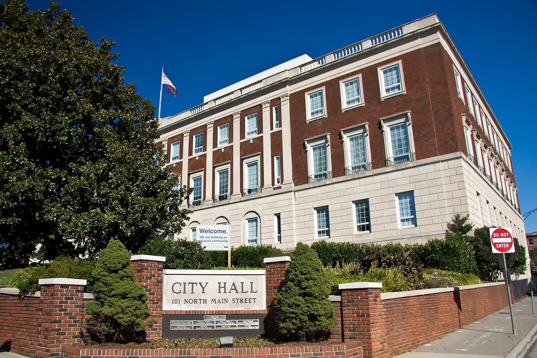 City Of Winston Salem >> Winston Salem City Hall Wikipedia