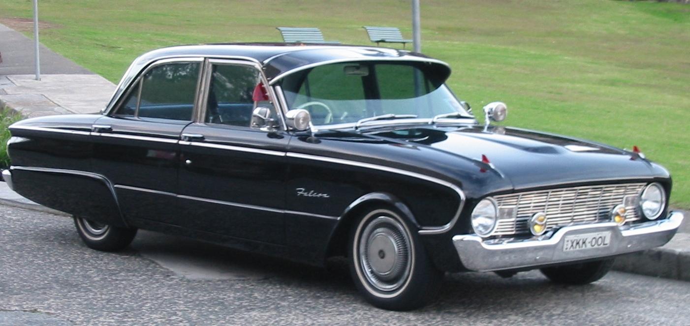 1960 Ford XK Falcon sedan