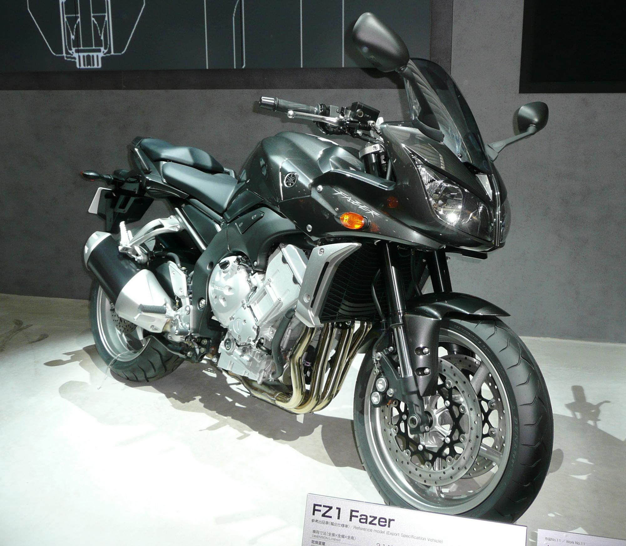 Yamaha Fazer Wikipedia