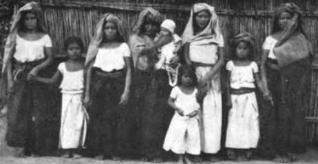 File:Zapotec women and children Mexican Indian Mongoloid png