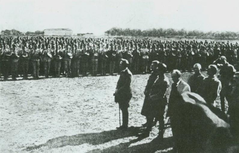 Файл:Присяга січових стрільців. Старокостянтинів. 1919.JPG
