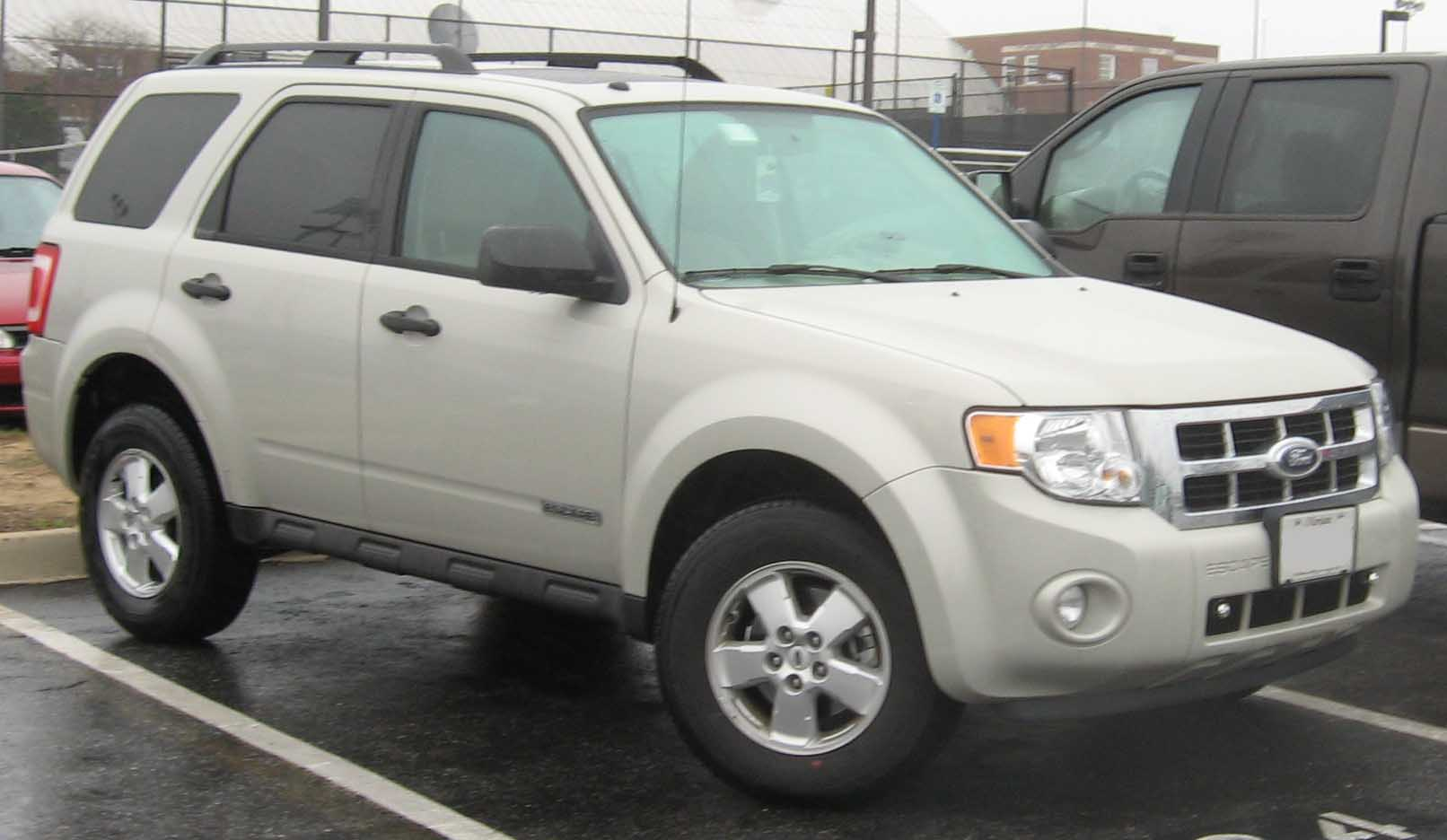 File 08 Ford Escape Jpg Wikimedia Commons