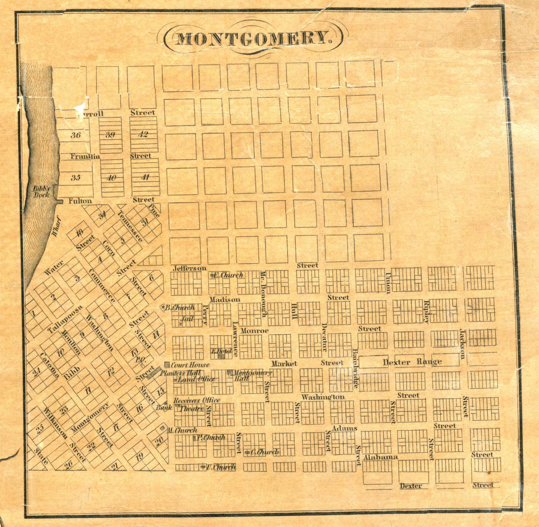 File:1837 Map of Montgomery, Alabama.jpeg - Wikimedia Commons