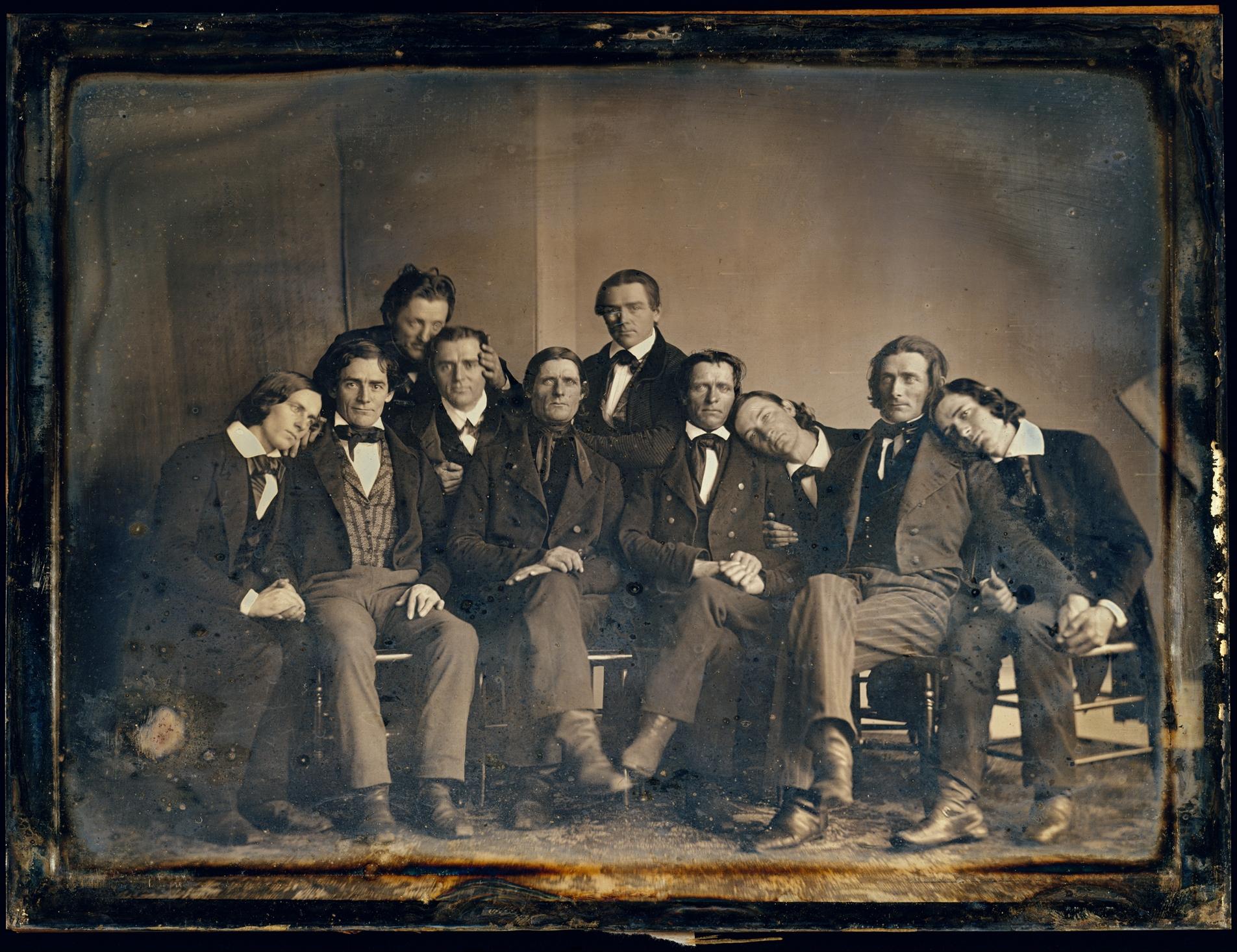 Hutchinson Family, 1845