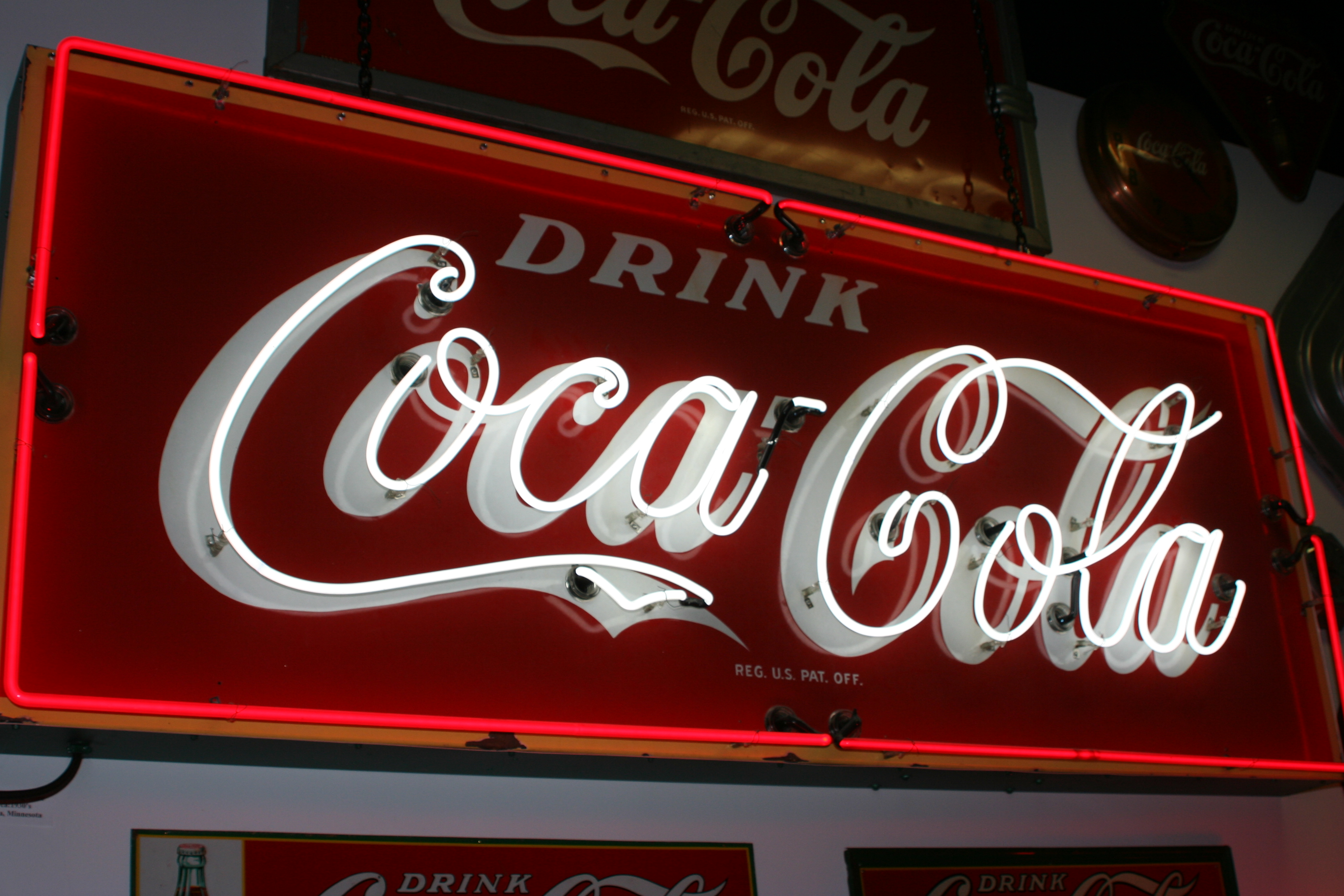 dating coke signs Coca-cola flexes its venture capital muscle with the brand has a long history dating back over 100 and the signs of the leaves seem to point away from.